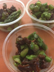 Wine-Soaked Sun dried Tomatoes and Asparagus